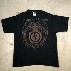 VTG Marilyn Manson Antichrist Superstar Shirt